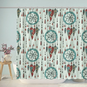 Dreamcatcher Boho Pattern Shower Curtain