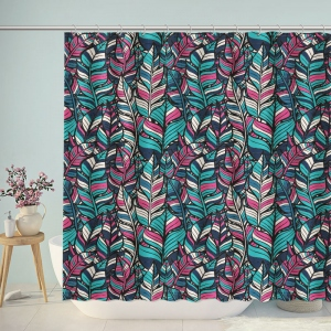Boho Style Pattern Design Shower Curtain