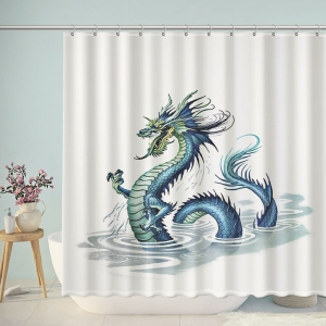 Dragon Myth Shower Curtain