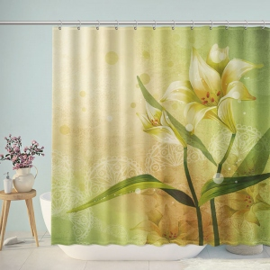 Meaningful Life Daffodil Shower Curtain