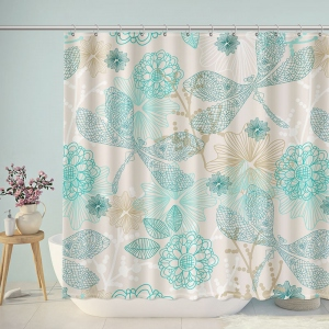 Cute Dragonfly Patterns Shower Curtain