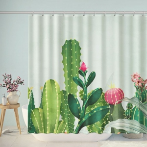 Cactus Desert Plant Shower Curtain