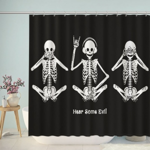 Hear Some Evil Shower Curtain