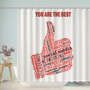 You Are The Best Shower Curtain