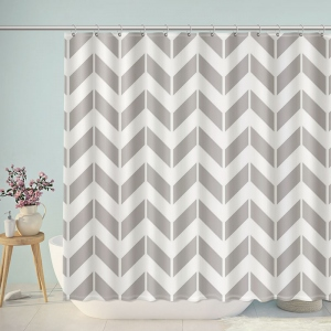 Stencil Ease Stencils Shower Curtain