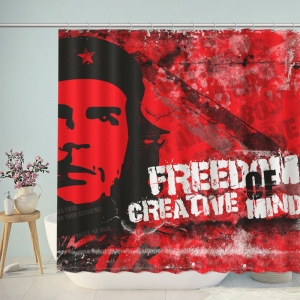 Marxist Revolutionary Ernesto Che Guevara Shower Curtain