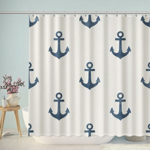 Anchors Art Print Shower Curtain