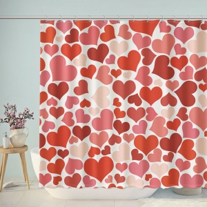 Sweethearts Print Shower Curtain