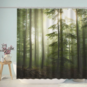 Black Forest Photography Shower Curtain